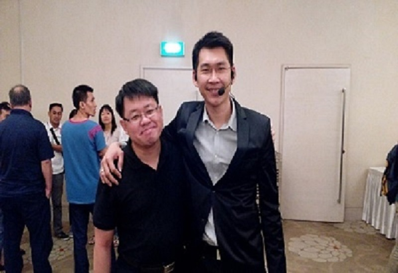 Me With Patric Chan